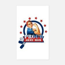 Rosie Proud Army Mom Decal