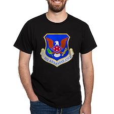 Arkansas ANG Black T-Shirt