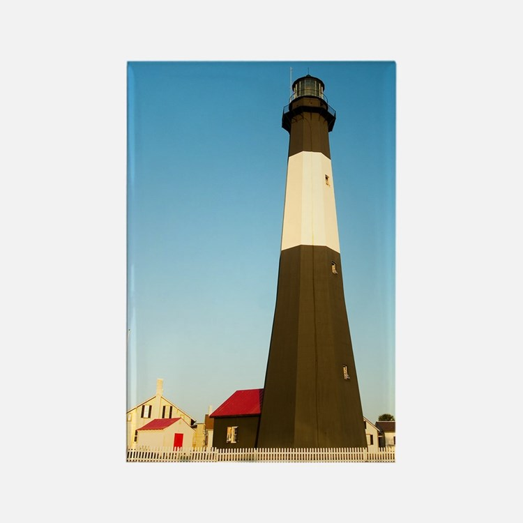 Tybee Island Lighthouse Rectangle Magnet