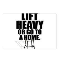 Funny Powerlifting Postcards (Package of 8)