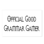 Official Good Grammar Gamer Postcards (Package of
