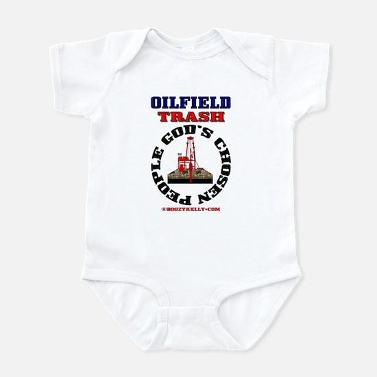 Oil field Trash God's Chosen Infant Bodysuit