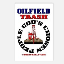 Oil field Trash God's Chosen Postcards (Package of