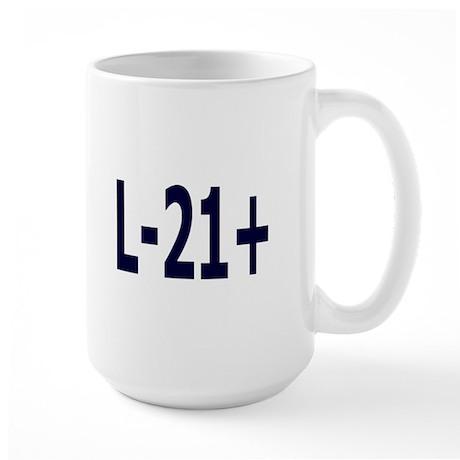 WHAT'S YOUR HAPLOGROUP? Large Mug