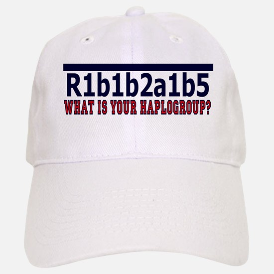WHAT'S YOUR HAPLOGROUP? Baseball Baseball Cap