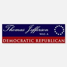 Thomas Jefferson Bumper Bumper Bumper Sticker