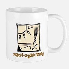 Support Organic Farming Mug