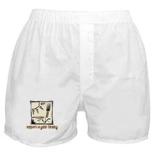 Support Organic Farming Boxer Shorts