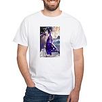 'Merlin' White T-Shirt