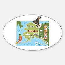 Alaska Map Decal