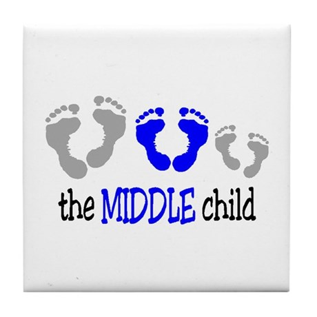 THE MIDDLE CHILD Tile Coaster