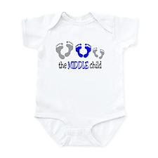 THE MIDDLE CHILD Infant Bodysuit