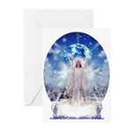 Winter Angel Greeting Cards (Pk of 10)