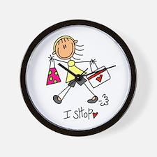 I Shop Wall Clock