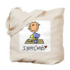 I Play Cards Tote Bag