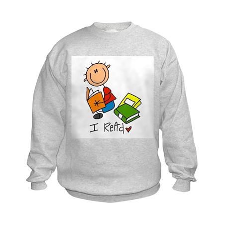 I Read Kids Sweatshirt