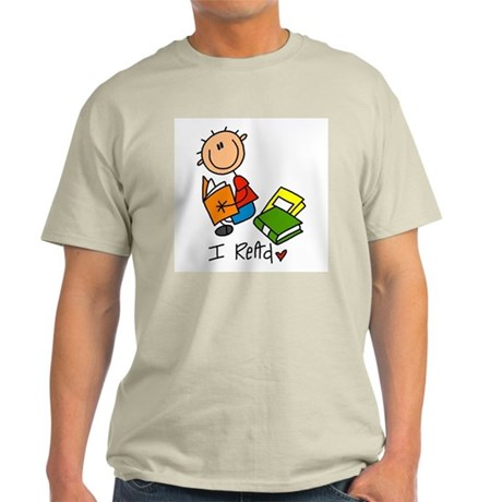 I Read Light T-Shirt