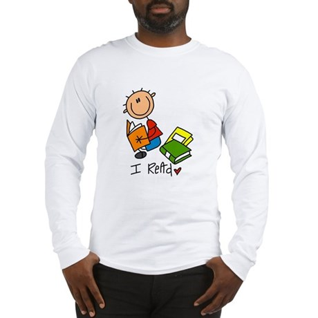 I Read Long Sleeve T-Shirt