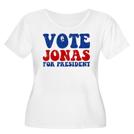 Vote Nick For President Women's Plus Size Scoop Ne