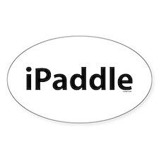 iPaddle Oval Decal