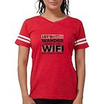 Star Women's Fitted T-Shirt (dark)
