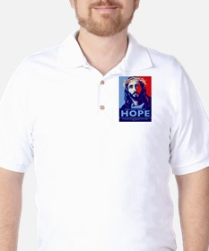 Jesus Our greatest Hope Golf Shirt