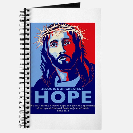 Jesus Our greatest Hope Journal
