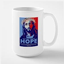 Jesus Our greatest Hope Large Mug