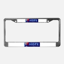 Jesus Our greatest Hope License Plate Frame