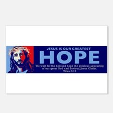 Jesus Our greatest Hope Postcards (Package of 8)