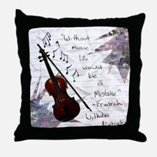 Viola Throw Pillow