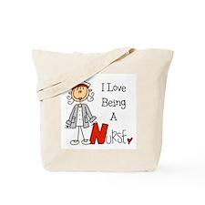 I Love Being A Nurse Tote Bag