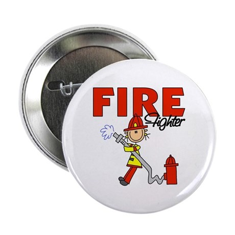 "Firefighter 2.25"" Button (100 pack)"