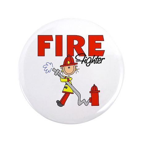 "Firefighter 3.5"" Button (100 pack)"