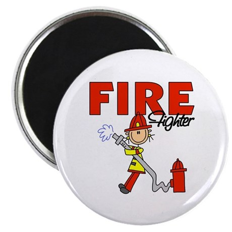 "Firefighter 2.25"" Magnet (10 pack)"