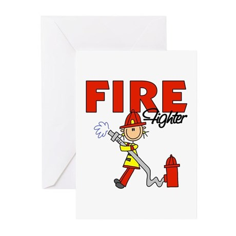 Firefighter Greeting Cards (Pk of 10)