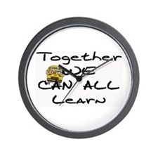 Together We Can All Learn Wall Clock