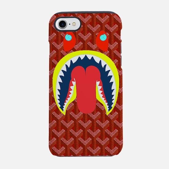 shark woven iPhone 7 Tough Case