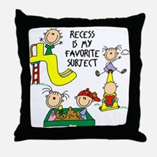 My Favorite Subject Throw Pillow