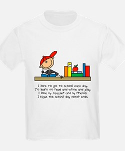 I Love To Go To School T-Shirt