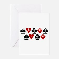 Poker Time Greeting Cards (Pk of 10)