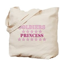 Soldiers Princess Tote Bag