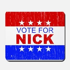 Vote for Nick Mousepad