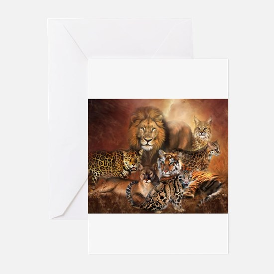 Unique Tiger Greeting Cards (Pk of 10)