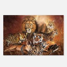 Cute Endangered species Postcards (Package of 8)