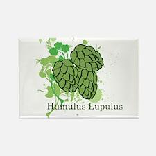 Humulus Lupulus II Rectangle Magnet