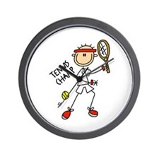 Tennis Champ Wall Clock