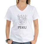 Vintage Peru Women's V-Neck T-Shirt