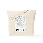 Vintage Peru Tote Bag