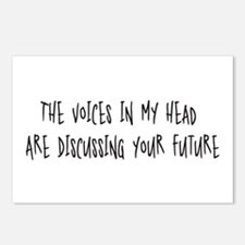 Voices Discussing Your Future Postcards (Package o